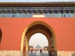 Porte entre les palais