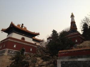 Style tibétain au nord du parc