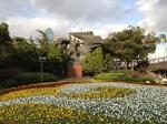 Sculpture dans le parc