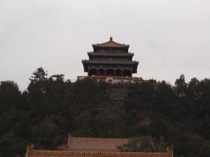 Pagode au sommet du parc Jingshan