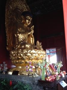 Le Bouddha de Jingshan Park