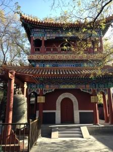 Dans le temple des Lamas