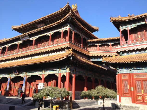 Pavillon principal du Temple de Lamas