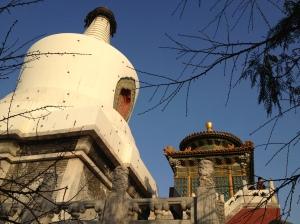 Dagoba tibétaine