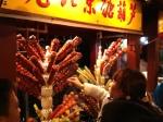 Brochettes de fruits aigre-doux