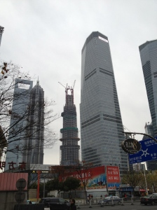 Gratte-ciel de Pudong