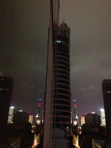 Pearl Tv Tower le soir de la chambre ...
