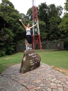 Le sommet de Bukit Timah