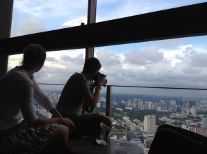 Bar du 73ième étage au SwissHotel