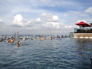 Piscine du Marina Bay Sands
