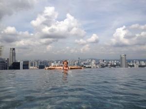 Piscine mythique de Singapour