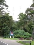 Les antennes de Bukit Timah