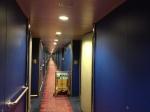 Notre couloir, dixième pont tribord