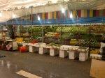 Etals de fruits et légumes à Littel India