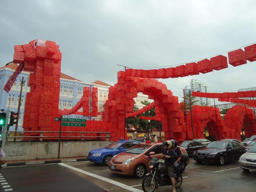 Décor pour le Nouvel An Chinois