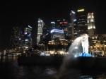 Merlion, symbole de Singapour