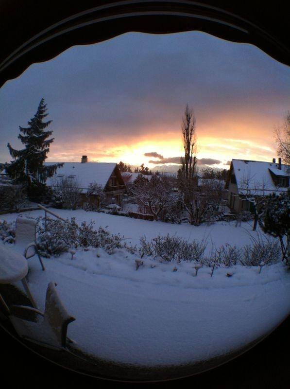 Lonay sous la neige