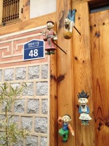 Quartier de Bukchon et ses Hanoks