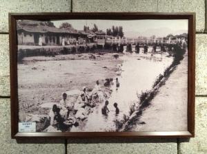 La rivière au début du 20ème siècle