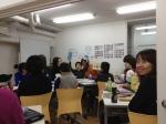 Dans la salle de classe