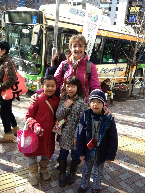 Isabelle et ses enfants