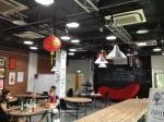 La salle du HUB de Singapour
