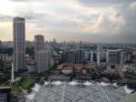 Vue sur Singapore